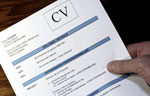 CV, lettre de motivation